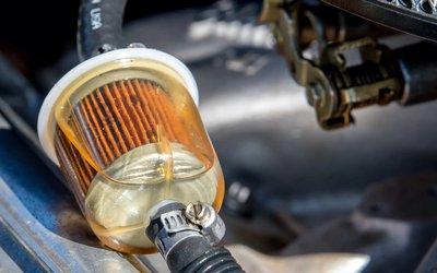 Changement de filtre à essence