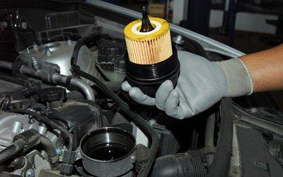 Changement de filtre diesel