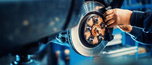 Changement de disques de frein